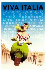 Vivia Italia Vespa Poster