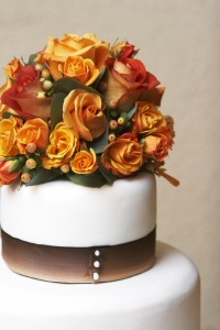 Wedding Cake and Wedding Flowers