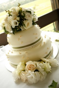 Wedding Cake Flower Arrangements