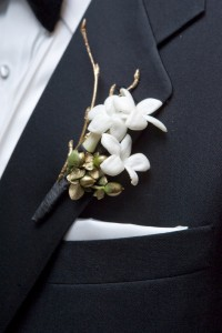 Mens Wedding Corsage Two